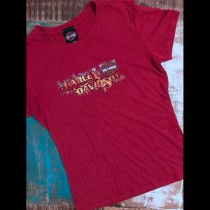 Harley Davidson Classics Flame On Graphic T-Shirt